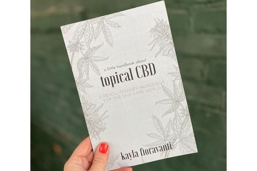 Ology Liitle ahndbook about topical CBD by Kayla Fioravanti