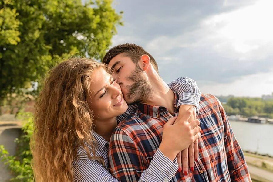 happy husband and wife fsh