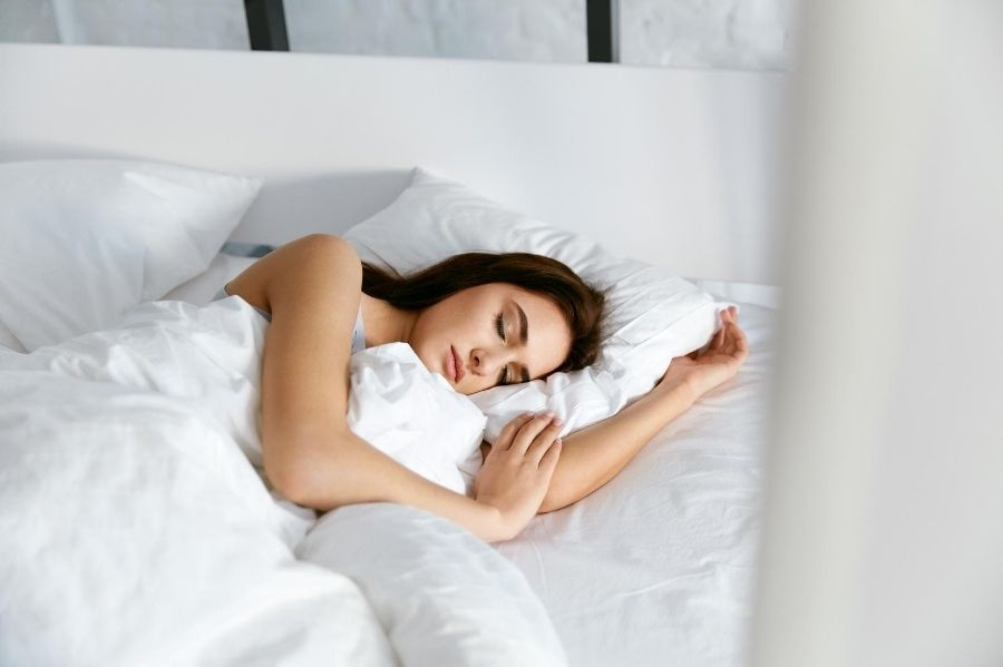 hormone puzzle podcast - woman sleeping