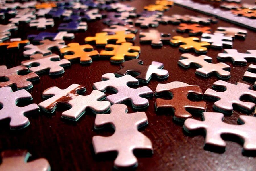 puzzle-pieces to solve Perimenopause Menopause Symptoms